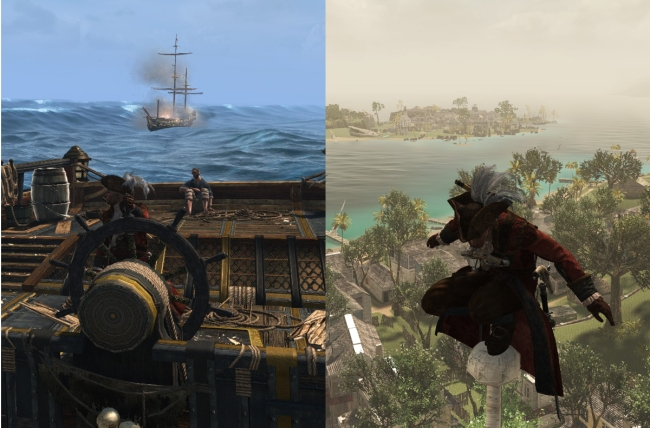 Assassin's Creed 4 outfit inconsistency