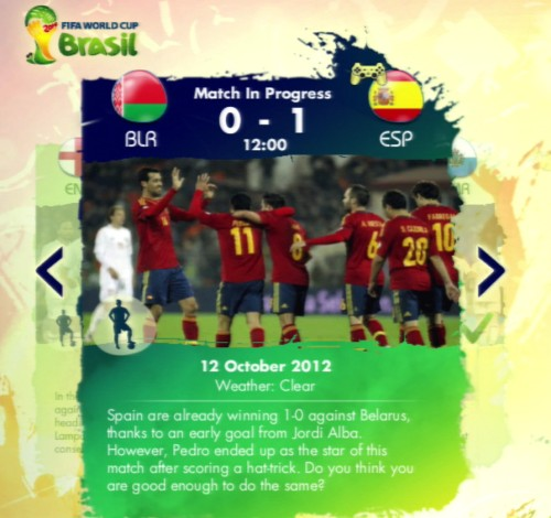 The Story of Qualification mode allows you to play through some of the great games and performances of the qualifying campaign.