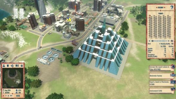 Tropico 4 ziggurat
